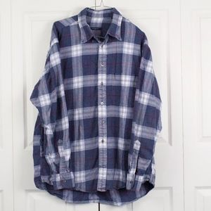 Burberry London Flannel Shirt Size XL